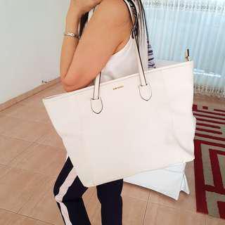 MANGO White Bag