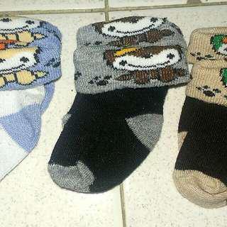 Baby unisex socks (set of 3)