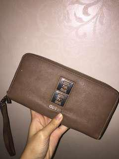 Guess brown wallet / dompet