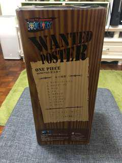 One Piece Wanted Poster 草帽海賊團9人全齊