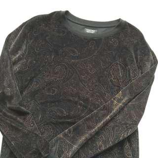 🧥 ZARA Black-Gold Sweater 🧥