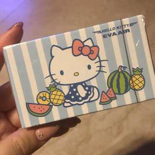 長榮航空 kitty 撲克牌
