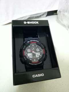 Brand new Casio G-Shock GA-100-1A4DR