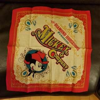 Tokyo Disneyland The Diamond Horseshoe 方巾