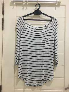 H&M Stripes Shirt in size M