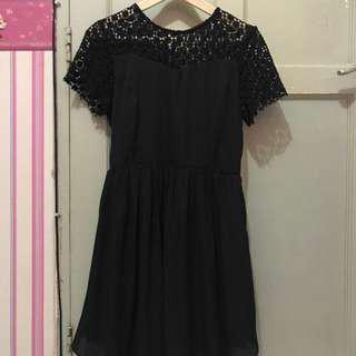 something borrowed lace dress