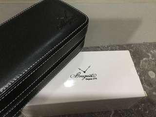 Fs Brequet genuine Leather watch travel case