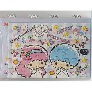 Sanrio Little Twin Stars Mini Puzzle With Envelope 雙子星拼圖連信封