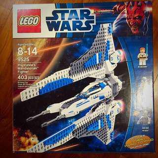 🚚 Lego 9525 Star Wars Pre Vizsla's Mandalorian Fighter Play Set