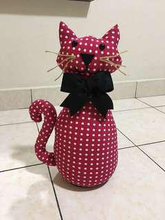 Handmade fabric door stopper