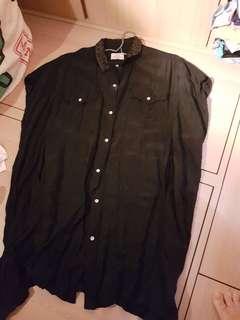 Initial 黑色連身裙