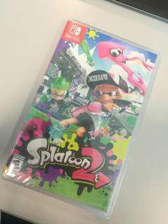 Brand new Splatoon 2