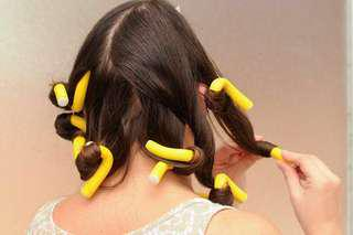 10pcs No heat soft bendable foam rollers hair curlers