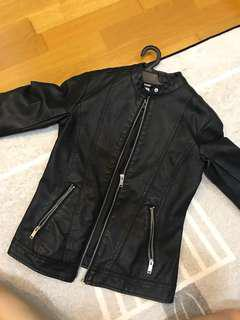 Pull & bear Leather Jacket