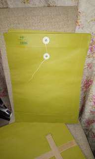 大型 公文袋 - 牛皮紙 ( 16x 12 吋 ) 2 吋風琴厚度