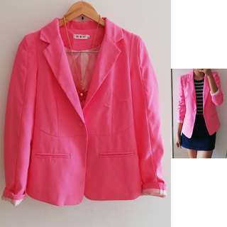 Good as new Pink Blazer