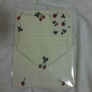 Strawberry Letter Set