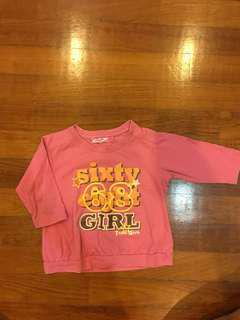 Girl top - 4-5 years old