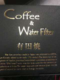 Coffee and water filter