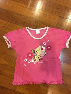 Girl top - Tom & Jerry ( 3-4 years old)