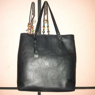 STRADIVARIUS Black Tote Bag