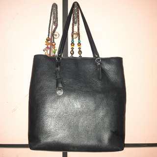 STRADIVARIUS Black Tote Bag