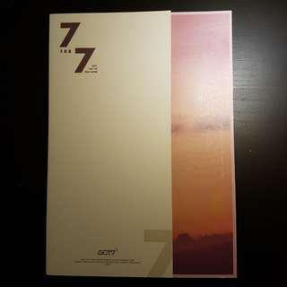 got7 7 for 7 unsealed album ( magic hour ver. )