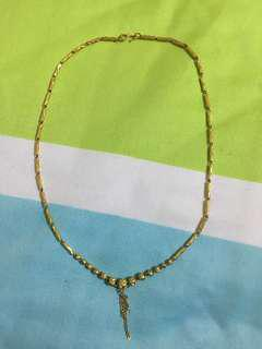 999 Gold necklace