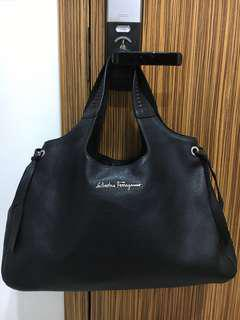 Authentic Salvatore Ferragamo shoulder bag