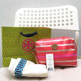 Authentic TORY BURCH Makeup Clutch / Pouch