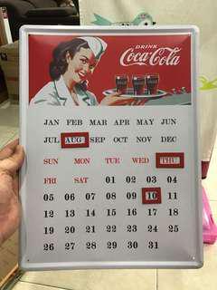 Coca- Cola Calendar
