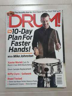 DRUM! Magazine - Mike Johnston Cover