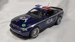 1:24 diecast Ford Mustang Boss 302 in new ICA livery