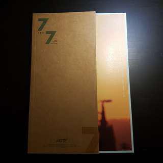got7 7 for 7 unsealed album ( golden hour ver. )