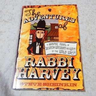 The Adventures of Rabbi Harvey - Steve Sheinkin