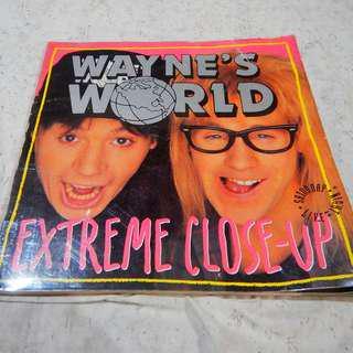 Wayne's World Extreme Close-up