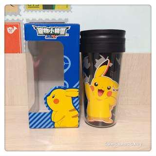 日本景品 Pokemon 寵物小精靈 隔熱杯