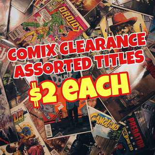 💥PRICE REDUCED! COMIX CLEARANCE(Assorted titles)