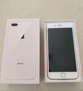 iPhone8 plus 64gb(bell locked)