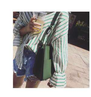 Korean style big sling bag