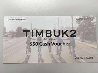 Timbuk2 $50 Cash Vouchers