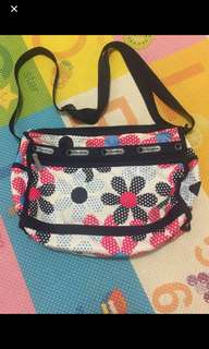Repriced authentic Le sportsac