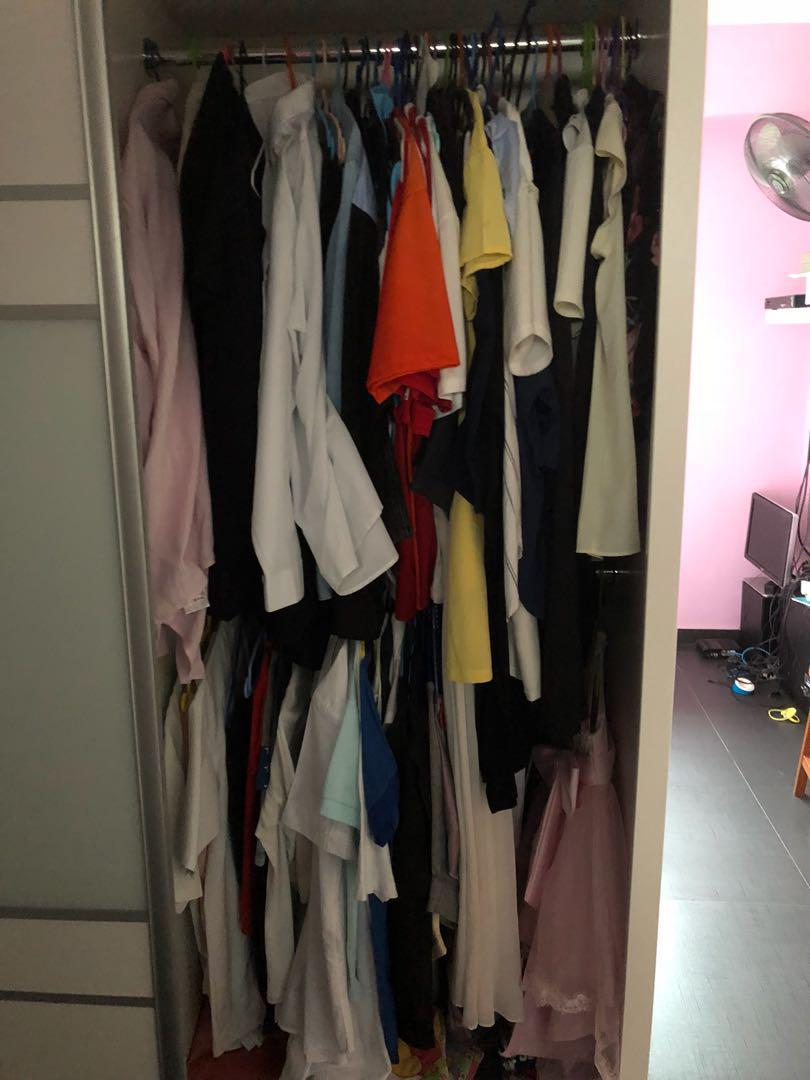 2 sliding doors - wardrobe