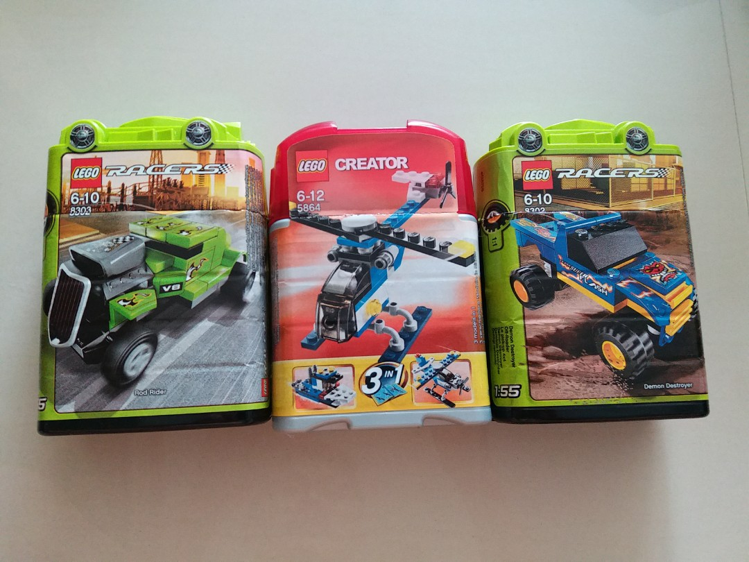 3x lego mini kits toys games others on carousell