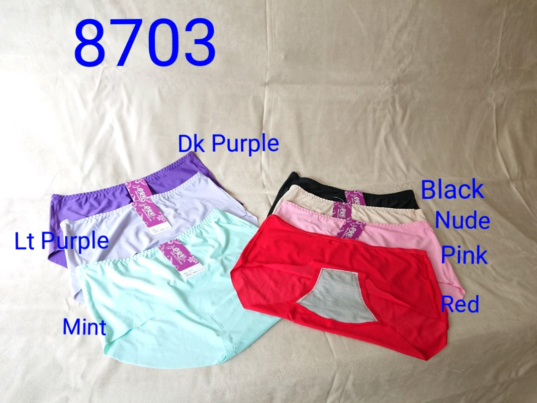 fa3a5b0393b 8703 Seamless High Waist Panties 4X (Instock)