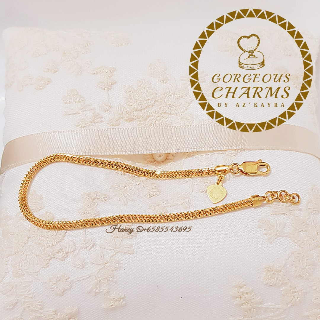 c2b9f2fb2 916 Gold Bracelet Pandora inspired, Women's Fashion, Jewellery, Bracelets on  Carousell