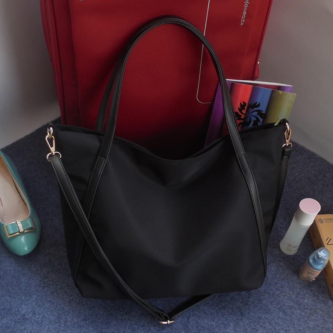 fad9874768d 🌷 PO  Nylon Big Tote Bag , Women s Fashion, Bags   Wallets ...