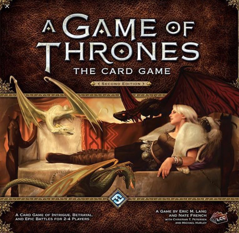 A Game of Thrones LCG Core sets and Expansions