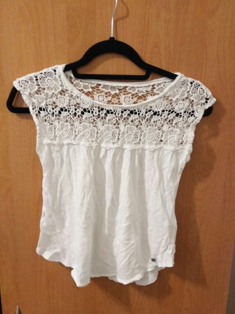 Abercrombie Lace Top