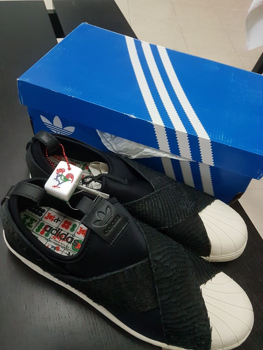 060c76762813 Adidas Limited Edition Rooster Year Sneaker Shoes.